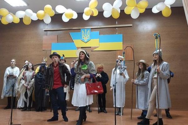 У Великогаївській громаді відбувся фестиваль вертепів та колядок (Фото)