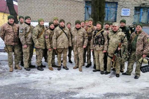До Тернополя з району ООС повернулися військовослужбовці ВСП