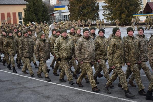 Тернопіль: в артилерійській військовій частині розпочався новий навчальний рік