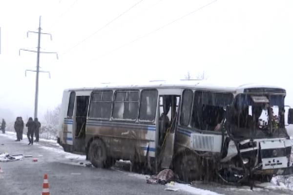Померла пасажирка автобуса, який потрапив у ДТП 11 грудня