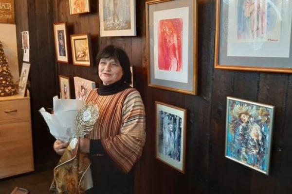 Полотна у жанрі «ню» – неповторний світ жіночої краси очима тернопільської художниці Наталі Басараб