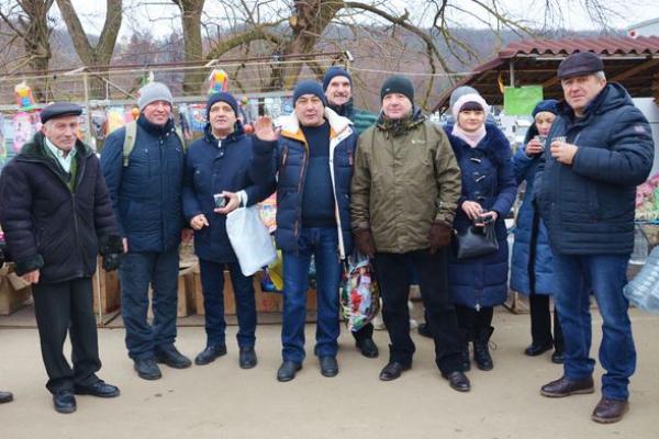 Волонтери ГО «Теребовлянська вежа» на Йордань відвідали Марійський Духовний центр