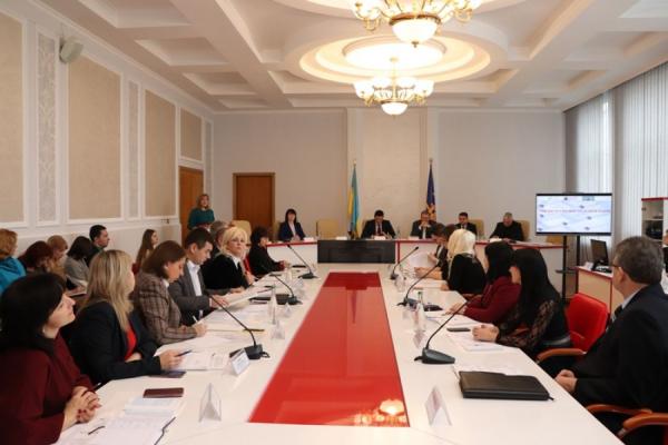 Голова облради Віктор Овчарук взяв участь у круглому столі щодо розбудови системи забезпечення якості освіти на Тернопільщині