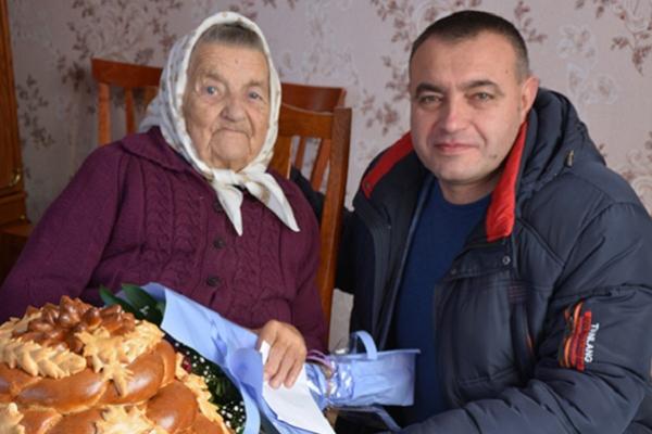 100-літній ювілей відсвяткувала жителька села Кровінка на Теребовлянщині