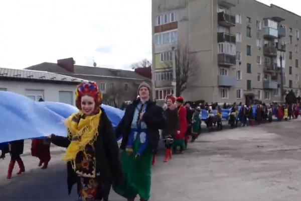 Міст єднання: Тернопільщина і Хмельниччина разом відзначають День Соборності (Наживо)
