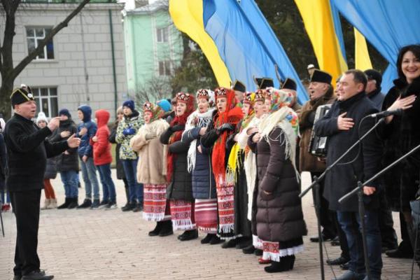 У Тернополі до Дня Соборності України відбулася спільна молитва за Батьківщину (Фото)
