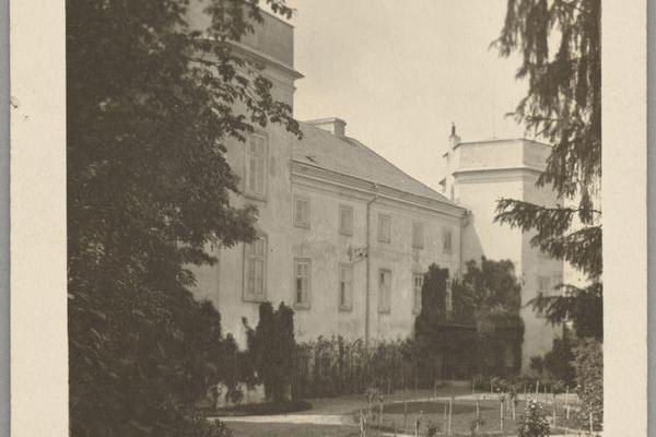 Палац в Гримайлові на фото 1925 року