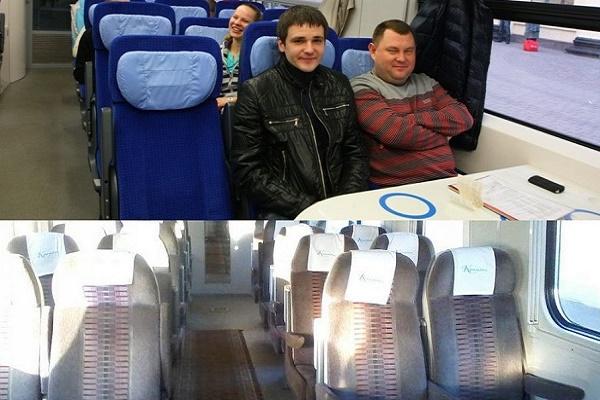 Порівняйте фото і відчуйте різницю: тернополяни обурені «новими» вагонами в «Інтерсіті» Київ-Тернопіль