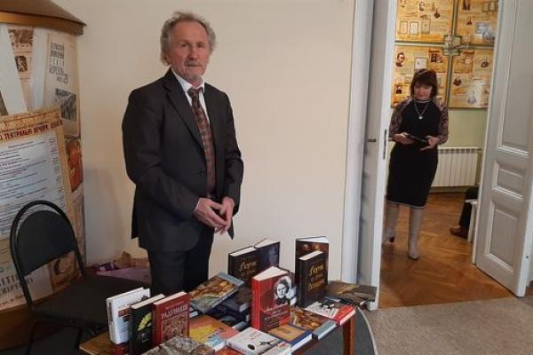 Автор «Крові святої» зустрівся із тернополянами