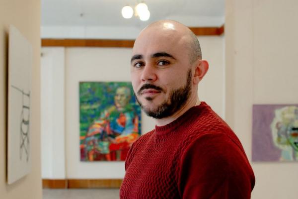 У Тернопільському художньому музеї відкрили виставку Сергія Декалюка