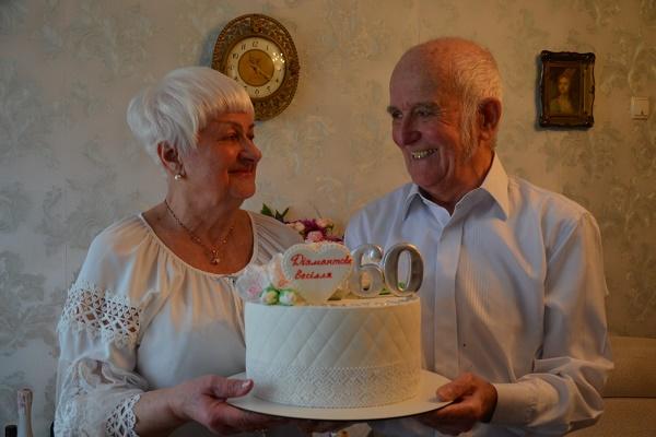 Діамантове весілля – 60 років подружнього життя, відсвяткувала пара з Чорткова