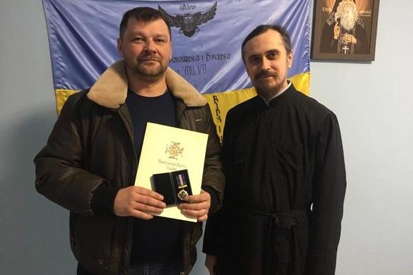 Тернопільського журналіста Тараса Савчука відзначили церковною нагородою