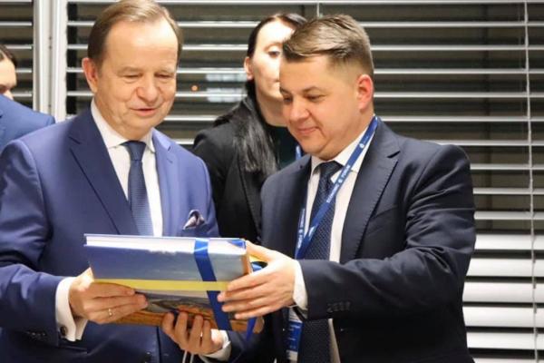 У Жешуві Віктор Овчарук зустрівся із маршалком Підкарпатського воєводства Владиславом Ортилем