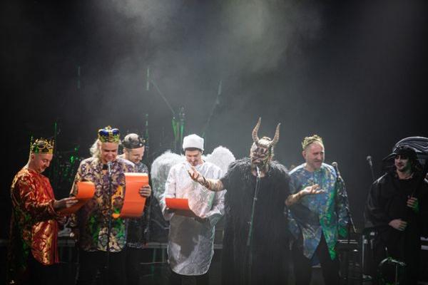 Гурт ТНМК у нових амплуа у Тернополі: Фагот в образі чорта, Фоззі-сіоніст, царі-гітаристи