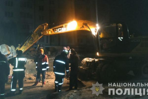 У Тернополі на будівництві загинули люди (Фото)