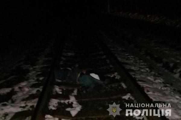 На Тернопільщині невідомого збив поїзд