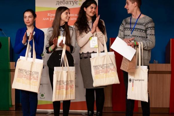 «Молодь дебатує»: тернополянка стала суперфіналісткою конкурсу