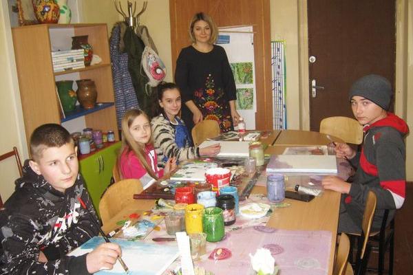Відділ образотворчого мистецтва Теребовлянської мистецької школи