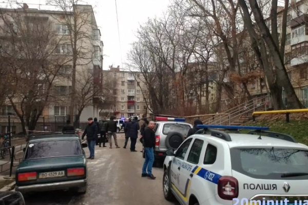 Вибух у Тернополі: На місці купа поліції (Відео)