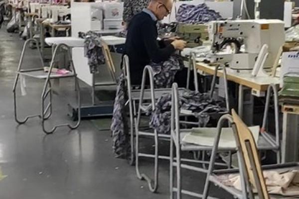 У Тернополі викрили швейний цех, де перебувало майже пів сотні неоформлених працівників