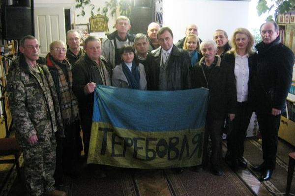 В Теребовлянській центральній районній бібліотеці пройшла година пам'яті Героям Небесної Сотні