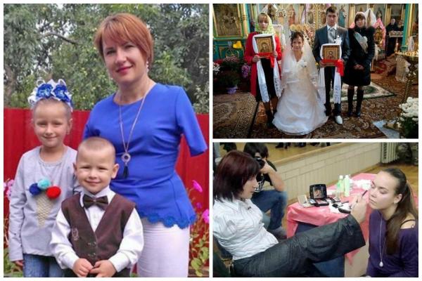 На Тернопільщині жінка без двох рук успішно виховує дітей та вишиває чудові картини