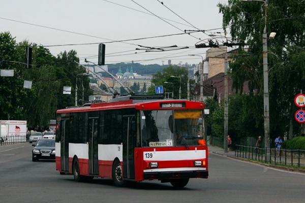 Тернопіль: зміниться тролейбусний маршрут №5