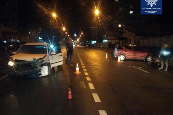 «Алкоголь та кермо — несумісні!»: у Тернополі чергове ДТП