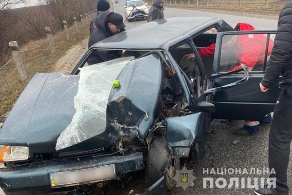 ДТП: на Тернопільщині травмувалася жінка