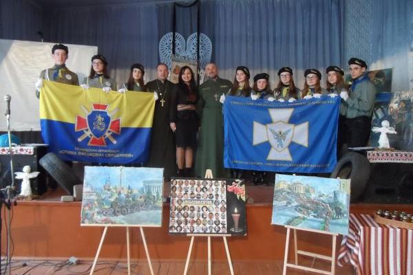 Учасник Революції гідності та АТО художник з села Яблунів пише картини про Майдан