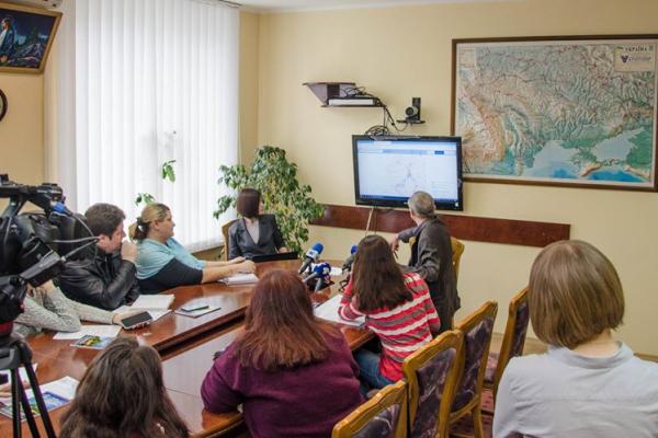 Тернопіль: презентували інтерактивну мапу  доріг