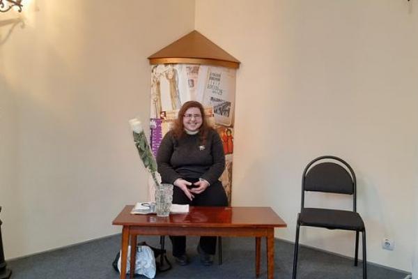 Вперше Наталя Близнюк презентувала свою творчість