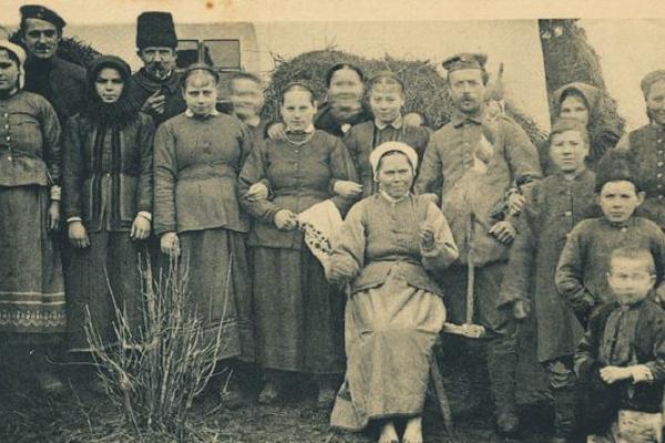 Жителі Галичини на фото столітньої давнини