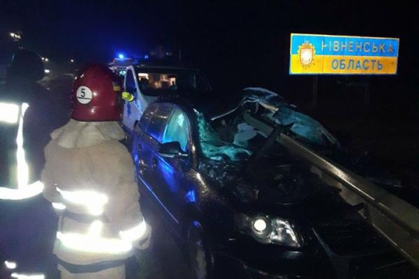 На межі між Тернопільщиною та Рівненщиною трапилася моторошна аварія (Фото)
