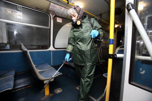 «Протидія коронавірусу»: у Тернополі дезінфікуватимуть громадський транспорт