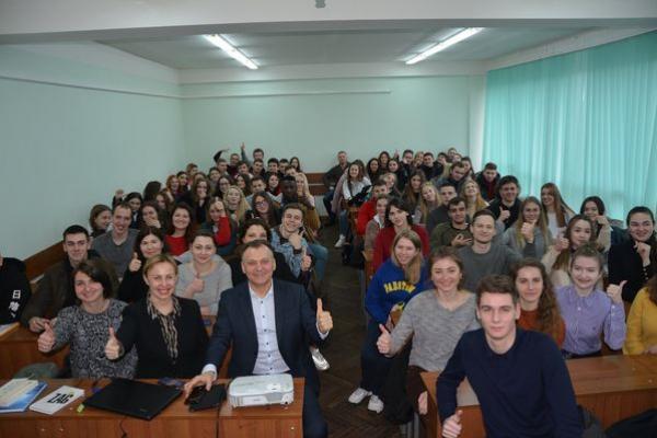 У Тернополі відбулася відкрита лекція «Циркулярна економіка як один із трендів сучасності»