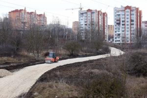 Тернопіль: облаштовують резервний проїзд на час перекриття Гаївського моста
