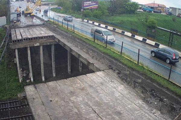 Більше ніж на пів року: у Тернополі перекриють рух на Гаївському мості