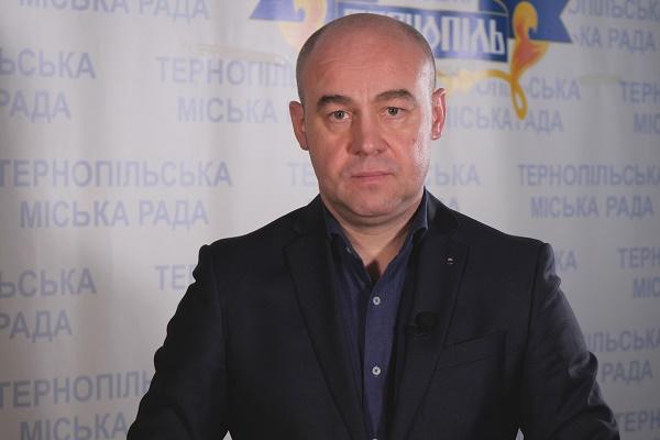 Міський голова Тернополя Сергій Надал захворів на коронавірус