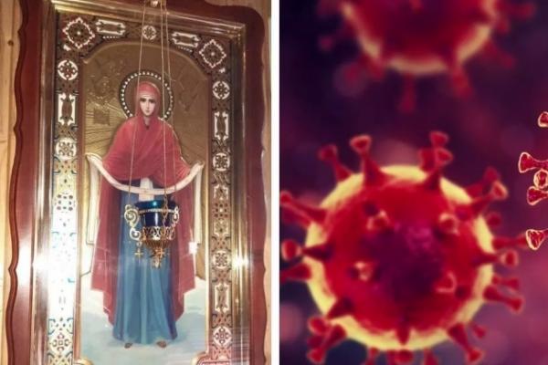 «Ікона мироточила, це знак»: священник з Тернополя закликає читати молитву, що врятує від коронавірусу