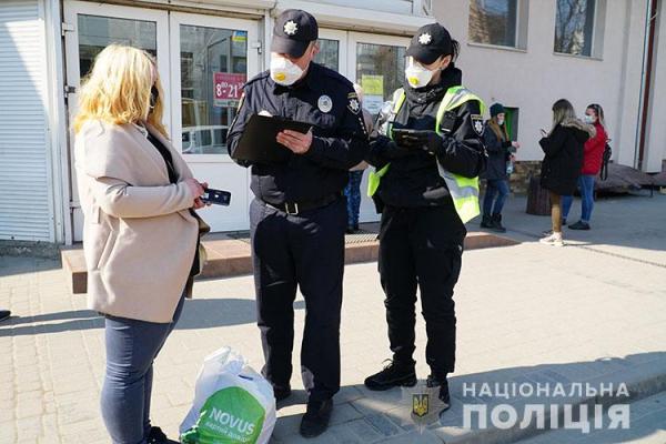 Через продаж медичних масок на вулиці тернополянка має проблеми із законом