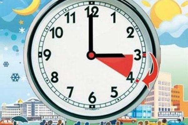 У ніч на 29 березня переводимо годинники на одну годину уперед