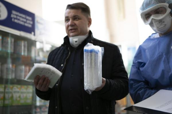 Районам Тернопільщини передали пробірки для визначення коронавірусу та засоби захисту