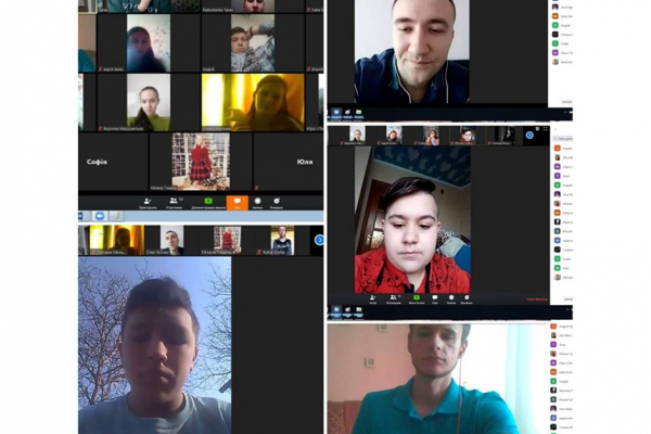 Працівники «Карітасу» у Тернополі під час карантину ведуть онлайн-зустрічі з дітьми на тему небезпеки коронавірусу