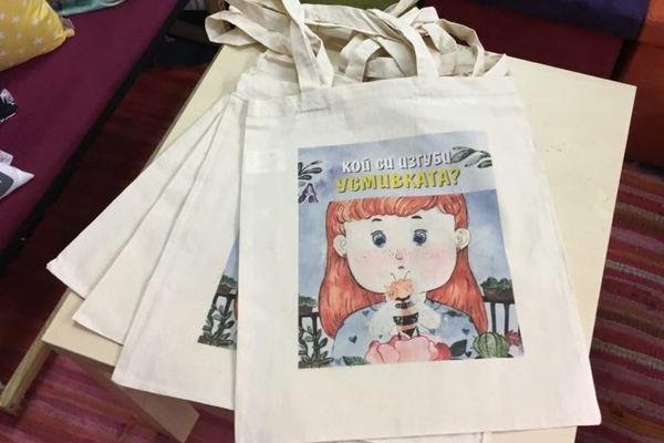 У Болгарії з'явились екологічні торбинки і футболки із героями казки тернопільської письменниці Валентини Семеняк