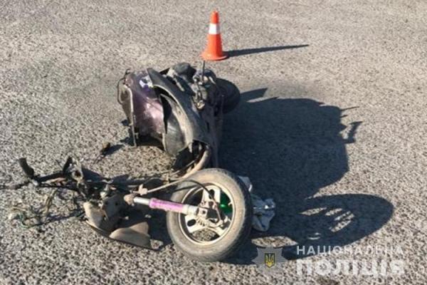 На Тернопільщині ДТП: водія скутера госпіталізували