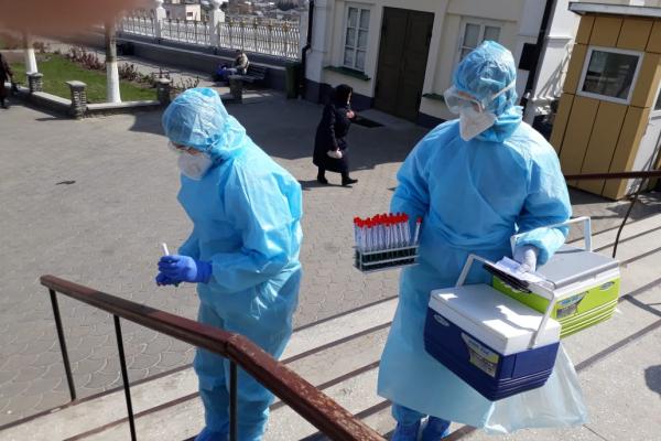 Тернопільщина: на території Почаївської Успенської Лаври триває дезінфекція