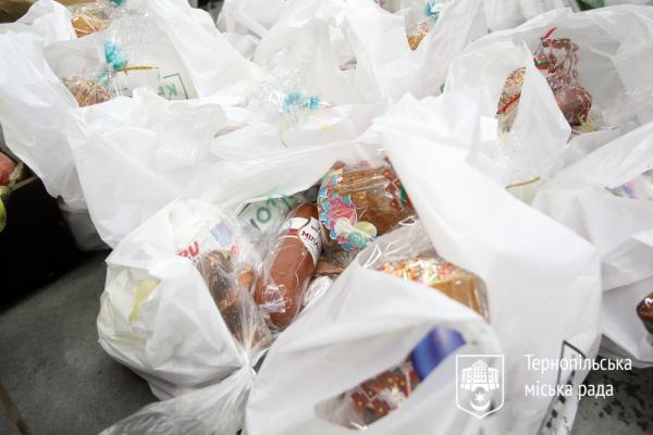 У Тернополі освятили ще 200 продуктових наборів