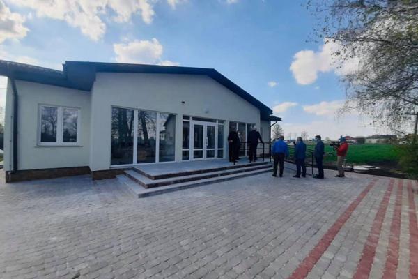 На Тернопільщині завершили будівництво ще одної амбулаторії
