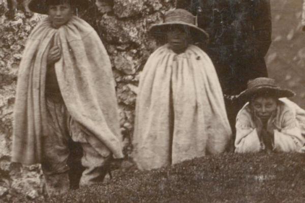 Мешканці Старого Збаража на фото ХІХ ст